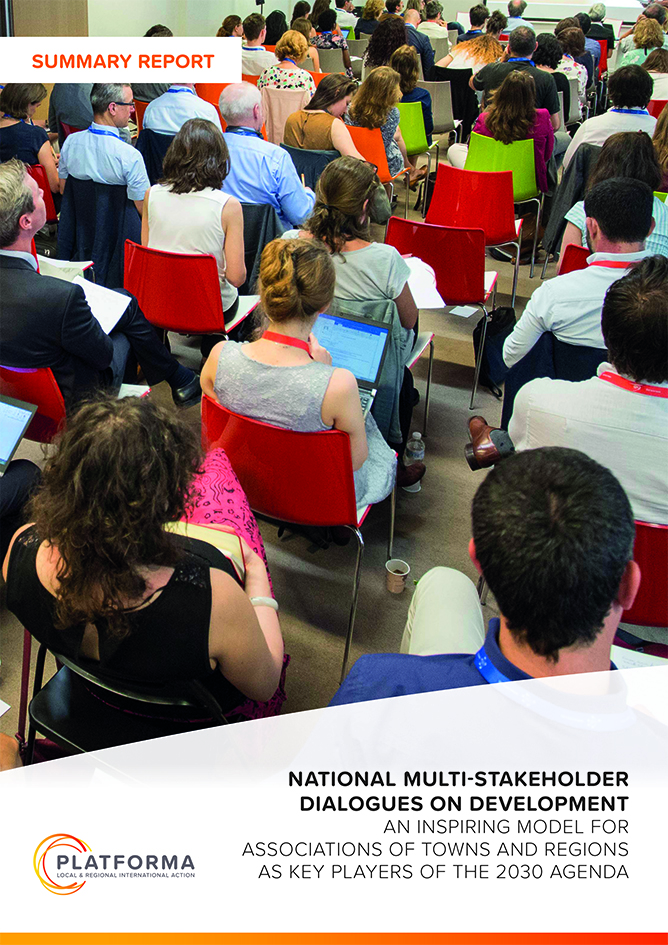 National Multi-Stakeholder Dialogues on Development – Summary report
