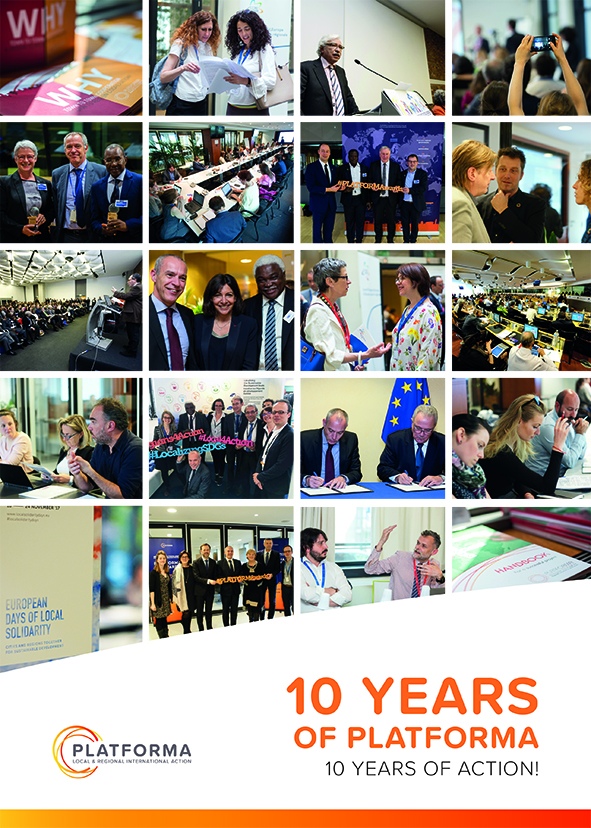 10 years of PLATFORMA, 10 years of action!